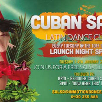 Cuban Salsa Launch Night at The Toff In Town!