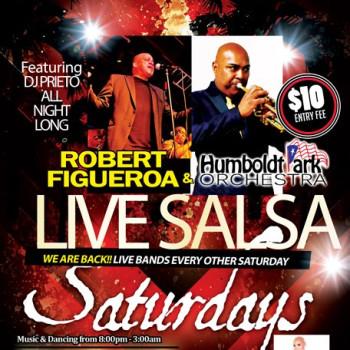 Live Salsa Saturday – ft. Robert Figueroa & HPO on stage