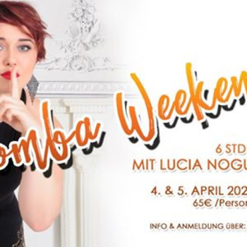 Kizomba Weekend Hamburg mit Lucia Nogueira (USA)