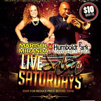 Live Salsa Saturday – ft. Marisol Miranda & HPO on stage