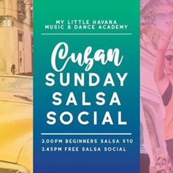 Cuban Sunday Salsa Social – RUEDA EDITION