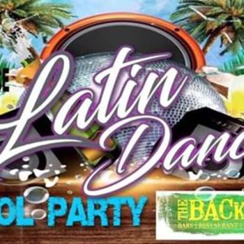 Latin Dance Pool Party