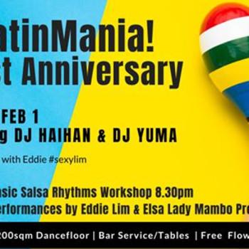 LatinMania! 1st Anniversary