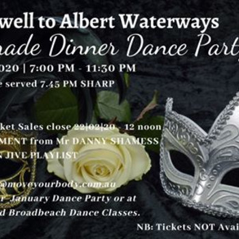 Farewell to Albert Waterways Masquerade Dinner Dance Party