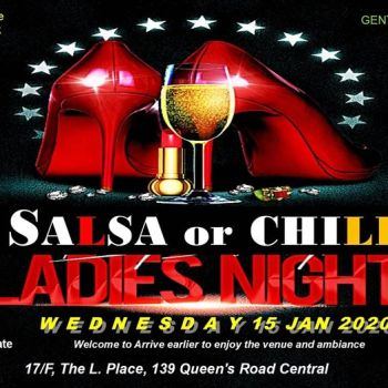WEDNESDAY LADIES NIGHT SALSA