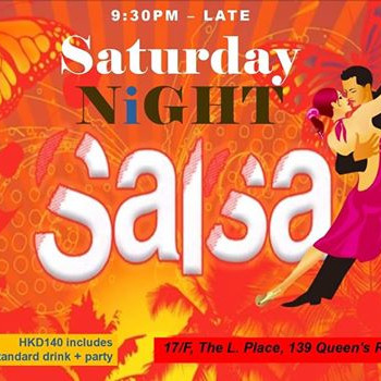 SATURDAY SALSA PARTY @ THE CODE, CENTRAL