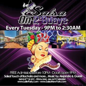 Salsa On2'sDays – Salsa Party