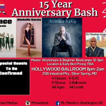 Mr. Mambo's 15year Anniversary Bash 2020