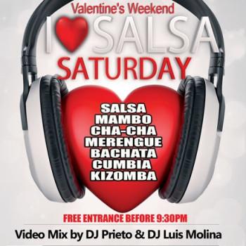 I Love Salsa Saturdays – Valentine's Weekend