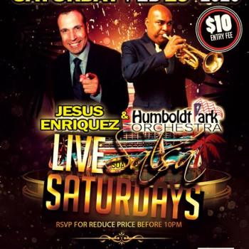 Live Salsa Saturday – ft. Jesus Enriquez & HPO on stage