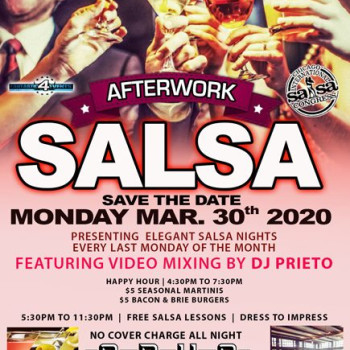 After Work Salsa Monday – No Cover All Night