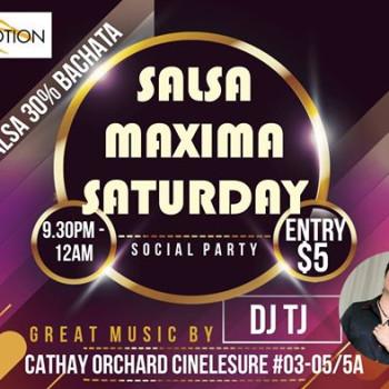 New Launch – Salsa Maxima Saturday