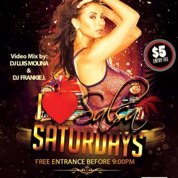 I Love Salsa Saturdays – Everyone Free B4 9:00pm!