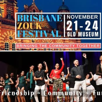 Brisbane Zouk Festival | 21 – 24th Nov 2019