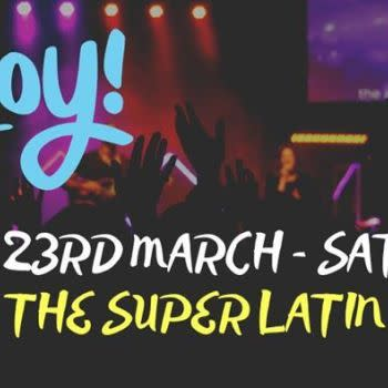 The Super LATIN Social at Paradizo – 23rd Mar – Saturday