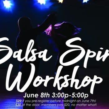 Salsa Spins Workshop
