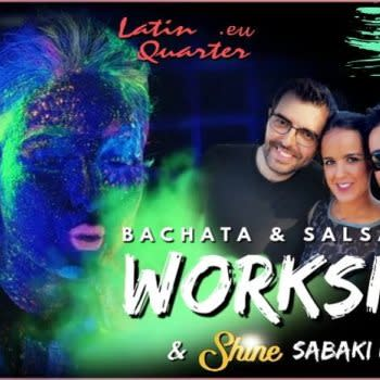 Latin Workshop & SaBaKi Neon Party • Dom.1 Mar @The View Rooftop