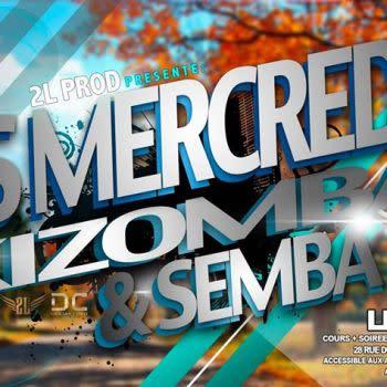 Mercredi 19 juin / Kizomba Semba Urban / Park / DJ