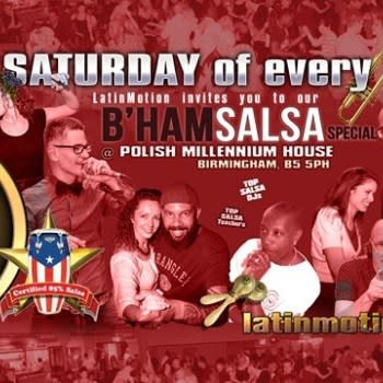 LatinMotion *monthly* ★Birmingham SALSA Special★ Polish Centre