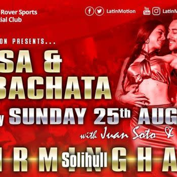 Bank-holiday Sun 25 Aug ★ LatinMotion ★Salsa & Bachata★ Solihull