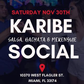 November: Karibe Monthly Social