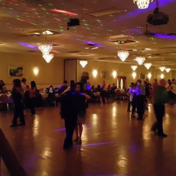 Dual Party Night: Salsa/Latin & Hustle/Chicago Steppin' Mix