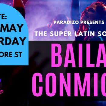The Super Latin Social – Baila Conmigo at Paradizo 25th May