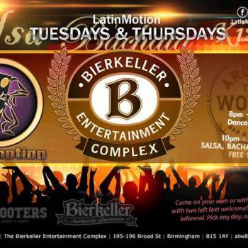 LatinMotion Tuesday SBK (Salsa, Bachata, Kizomba) Night | Bham