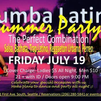 Rumba Latina Summer Party - Latin Dance Calendar
