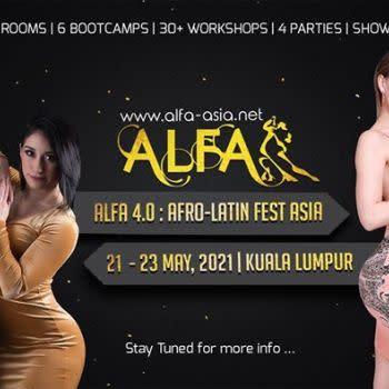 ALFA 2021 : Afro-Latin Festival Asia