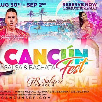 Cancun Salsa Bachata Festival + $5 OFF Promo Code
