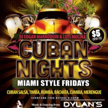 Cuban Nights/Miami Style Fridays