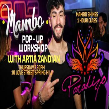 MAMBO Pop Up Workshop with Artia! This Thursday 7.30pm