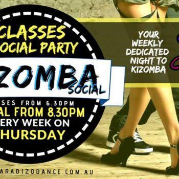 The Kizomba Social at The RG's every Thursday! Free Social PARTY