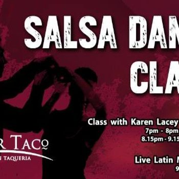 Wednesdays are for Salsa Dance Lessons at Senor Taco