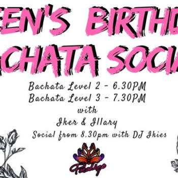 Queen's BDAY Bachata Night – Oct 1