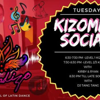KIZ Night – Tuesdays at The Marquee Bar! Classes & Social