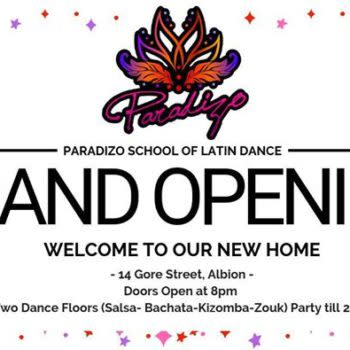GRAND Opening NIGHT – Paradizo New HOME!