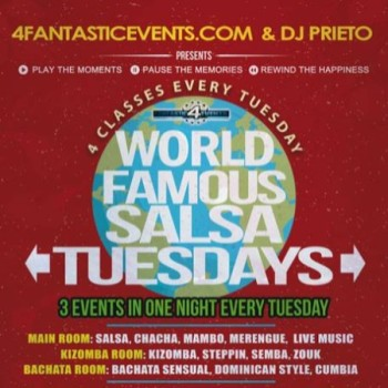 World Famous Salsa Tuesday @ Alhambra