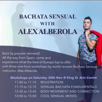 Bachata Sensual With ALEX ALBEROLA