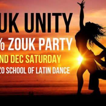 ZOUK UNITY Party – 100% Zouk at Paradizo Night!