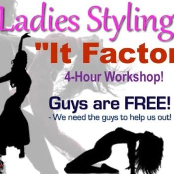 Ladies Styling `It Factor` Latin Dance Workshop