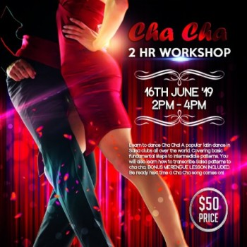 Cha Cha – 2 Hour Workshop