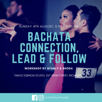 Workshop: Bachata Connection, Lead & Follow