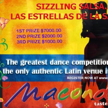 Sizzling Salsa Competition