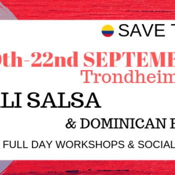 CALI Salsa & Dominican Bachata Full Day Workshop, Trondheim