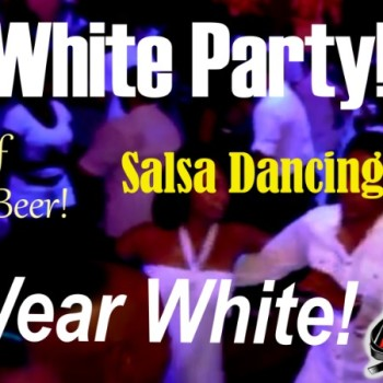 "Holiday ""Wear White"" Party! FREE DRINKS!! Salsa Class & Dance Social!"