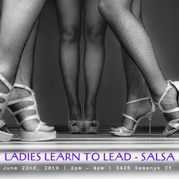 Ladies Learn To Lead – Salsa