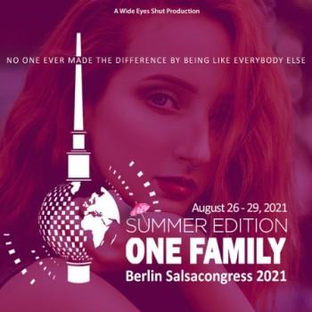 Berlin Salsacongress 2021 – One Family Summer Edition