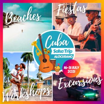Alocubano Cuba Salsa Trip 2021 Havana Trinidad Santiago